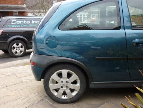 Complex Dent 2 (Vauxhall Corsa After)