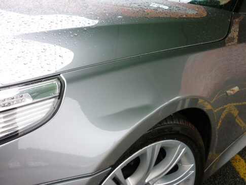 Crease Dent 1 (BMW Before)
