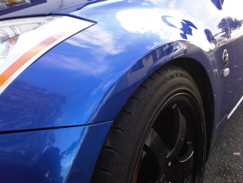 Front Wing Dent 2 (Nissan 350z After)