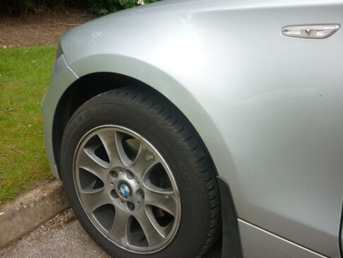 Front Wing Dent 4 (BMW 1 Series After)