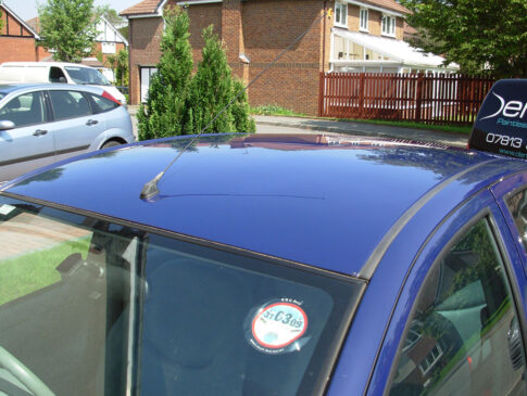 Roof Dent 4 (Toyota Yaris After)