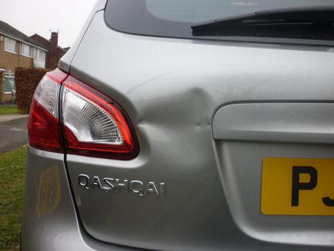 Tailgate Dent 3 (Nissan Qashqai Before)