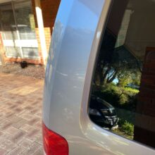Rear panel dents 3 after